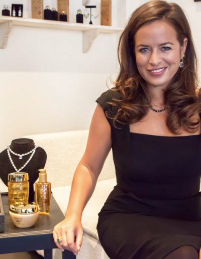 Jade Jagger - Professional Make-up Client