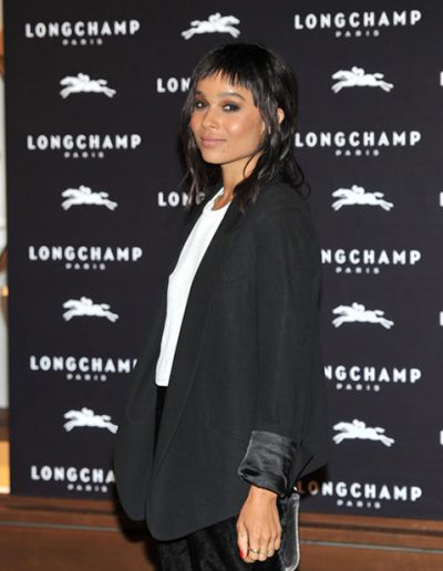 Zoe Kravitz Longchamp Store Opening - Professional Make-up