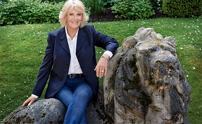 HRH The Duchess of Cornwall-70th Birthday Portrait